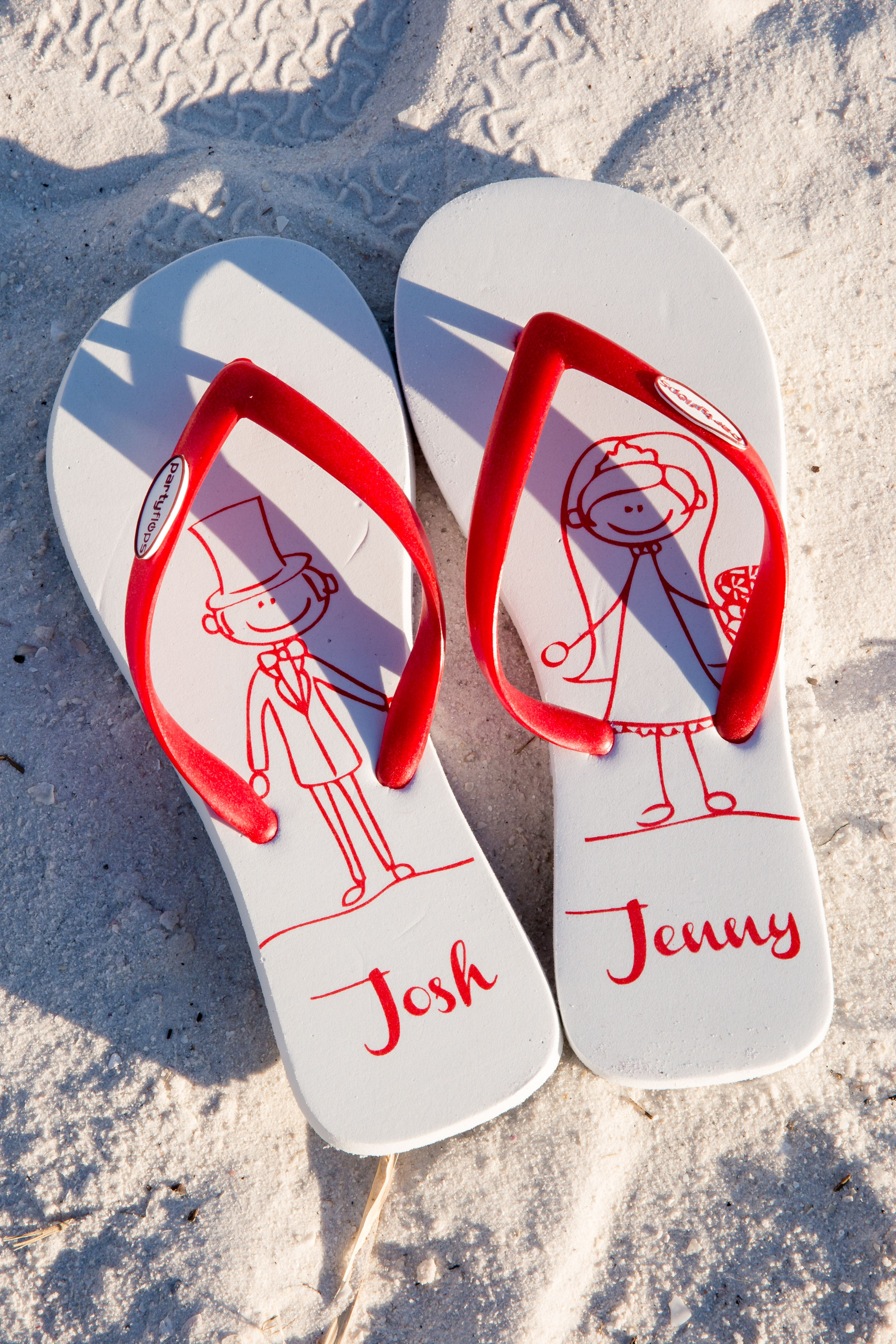 Personalized Flip Flop Wedding Favors | Just in case | Pinterest ...
