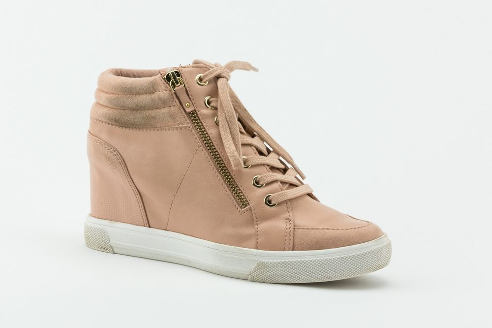 936897e9283d Aldo Kaia Lace-Up Wedge Sneakers Women s Shoes Blush Size 7.5M  fashion   clothing  shoes  accessories  womensshoes  athleticshoes (ebay link)