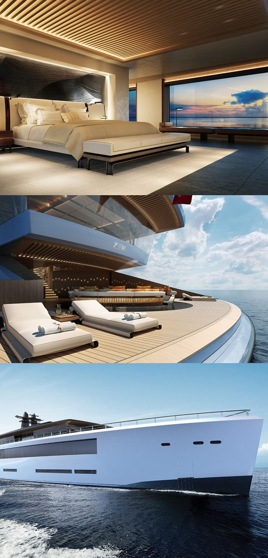 Superyachten concept  This Two-Deck Superyacht Concept Could Be the Ultimate Party Barge ...