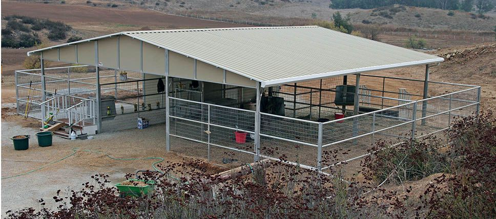 Mare Motels FCP Building Goat barn, Horse facility