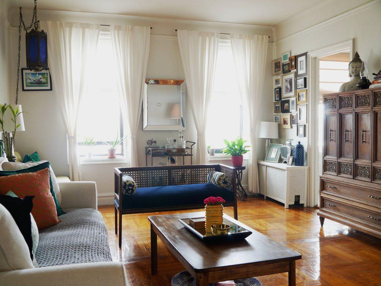 Brandi S Antique Chic Prewar Brooklyn Apartment Apartment Interior Design Living Room Design Inspiration Apartment Interior