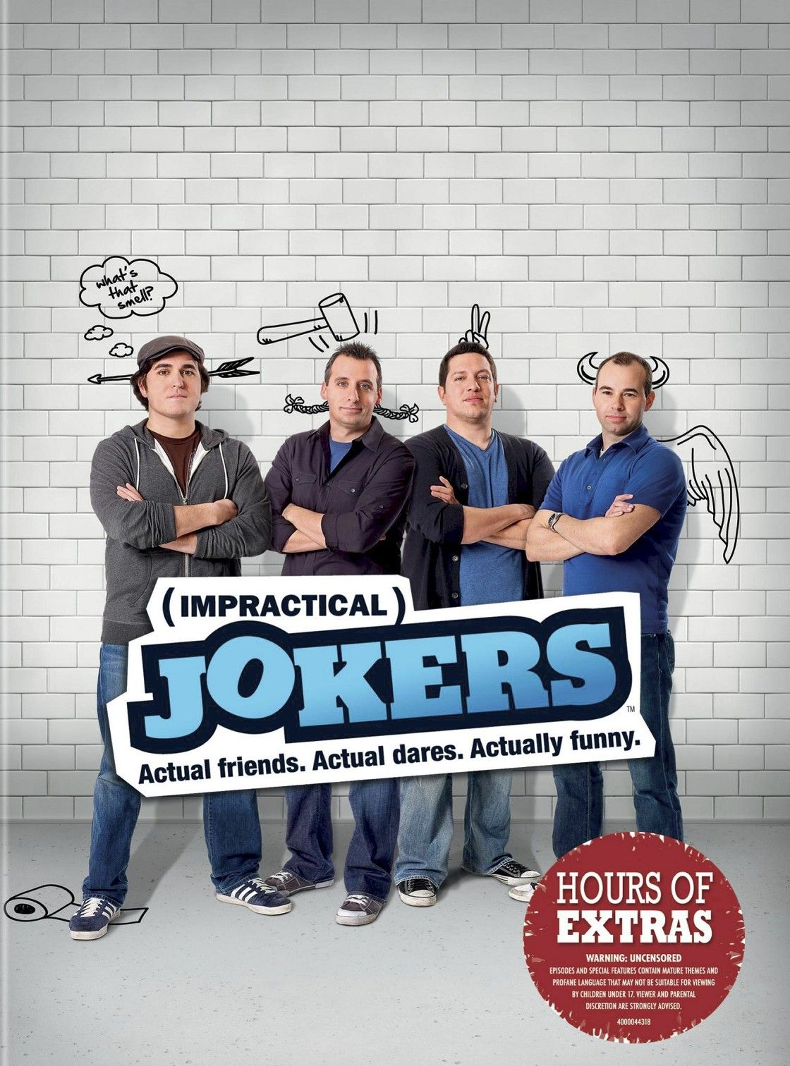 Impractical Jokers The Complete First Season (DVD) in