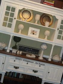 Painting a Hutch - Before and After