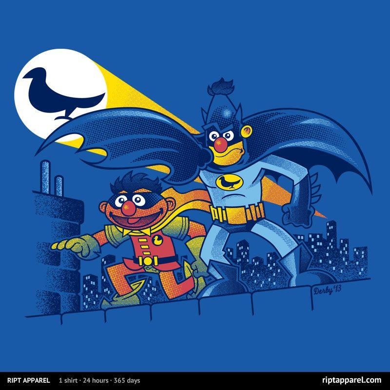 Pigeonman Art parody, Batman, Nerdy shirts