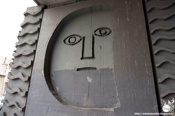 """Bordeaux - Immeuble """"Le Medoc"""", ancien siége du C.I.L.G. (Comité Interprofessionnel Logement Guyenne Gascogne)  Architectes: Atelier d'Archi..."""
