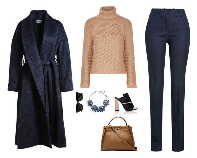 """""""Turtle Neck"""" by ch-swisss ❤ liked on Polyvore featuring HUGO, Fendi, Cacharel, Proenza Schouler, Gabriele Frantzen and Ray-Ban"""