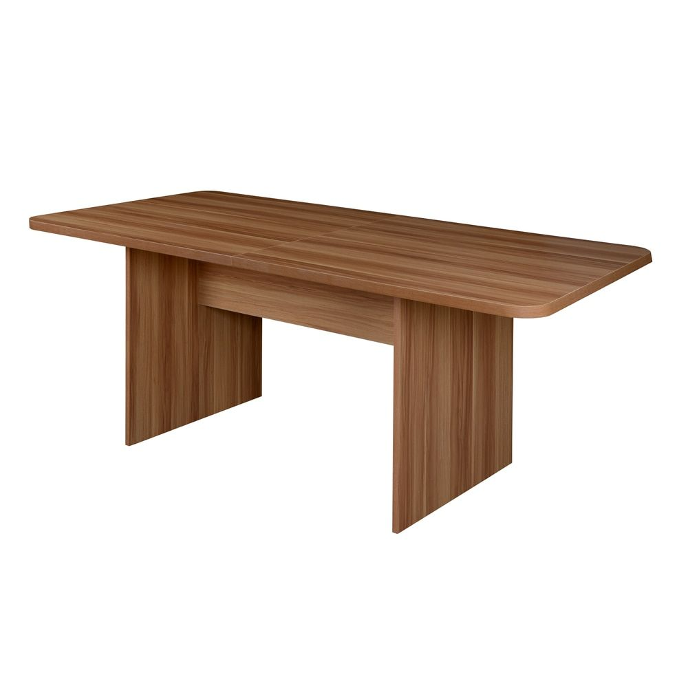 Niche Mod Foot Rectangular Conference Table Home Pinterest - Conference table bases wood