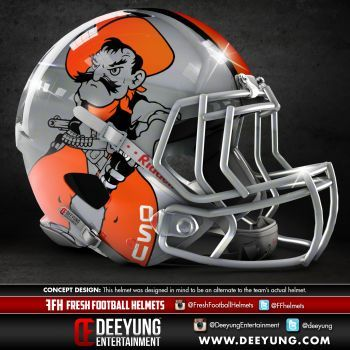Artist Creates Concept Helmets For Ncaa Football Teams Football Helmets Football Cool Football Helmets
