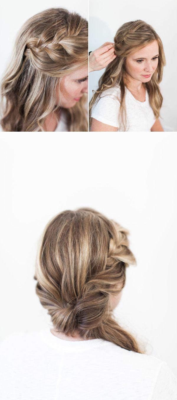 Bridal Beauty: Side Braid with a Loose Twist | Formal hair, Hair ...