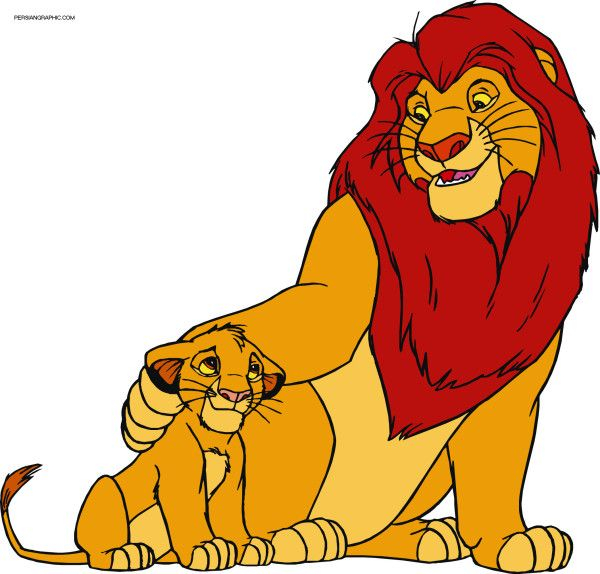13 Mewarnai Gambar The Lion King King Cartoon Lion King