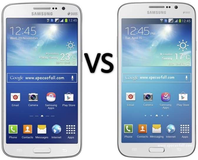 Compare Samsung Galaxy Grand 2 Vs Galaxy Mega 5 8 Smartphone Comparison Samsung Galaxy S4 Mini Samsung Galaxy S4