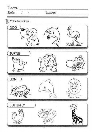 Atividades Para Aprender Ingles Com Imagens Com Imagens Aulas