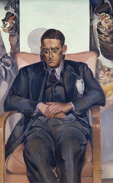 Wyndham Lewis (1882-1957) : T. S. Eliot, 1938. Durban Municipal Art Gallery. © Estate of Mrs. G. A. Wyndham Lewis, The Wyndham Lewis Memorial Fund.