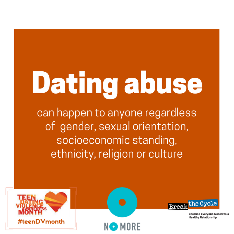 Why does dating abuse happen