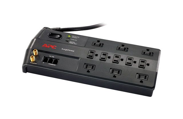 The Best Surge Protector Apc Computer Accessories Power Strip