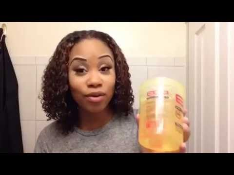 How To Achieve The Perfect Wash And Go Using Eco Styler Gel On Natural Eco Styler Gel Natural Curls Hairstyles Natural Hair Tutorials