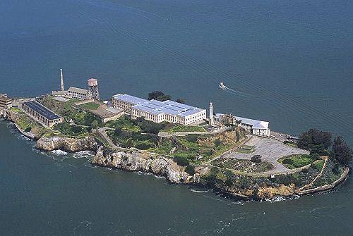 Alcatraz Island The Rock San Francisco Bay California Ca