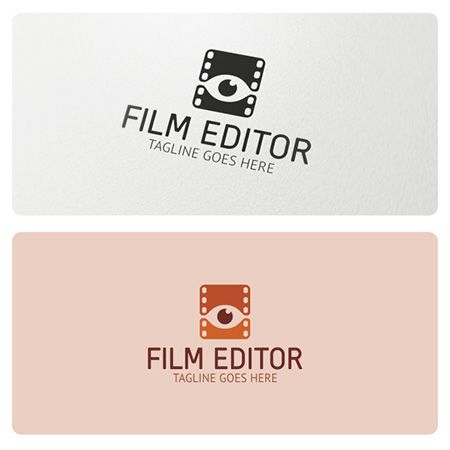 Logo Highly Suitable For Film Making And Film Editing Businesses Multimedia Production Photography Film Director Video Production And Many Other Film Logo