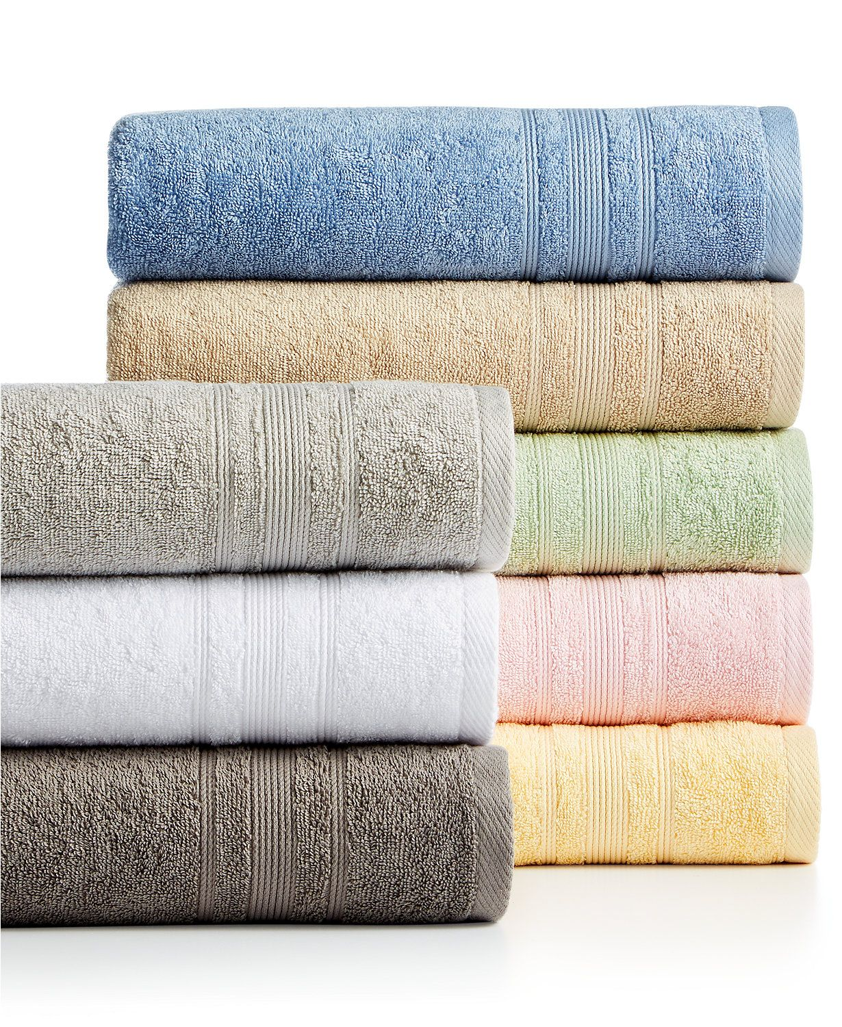 Macys Bath Towels Unique Sunham Supreme Select Cotton Bath Towel Collection  Macys Design Ideas