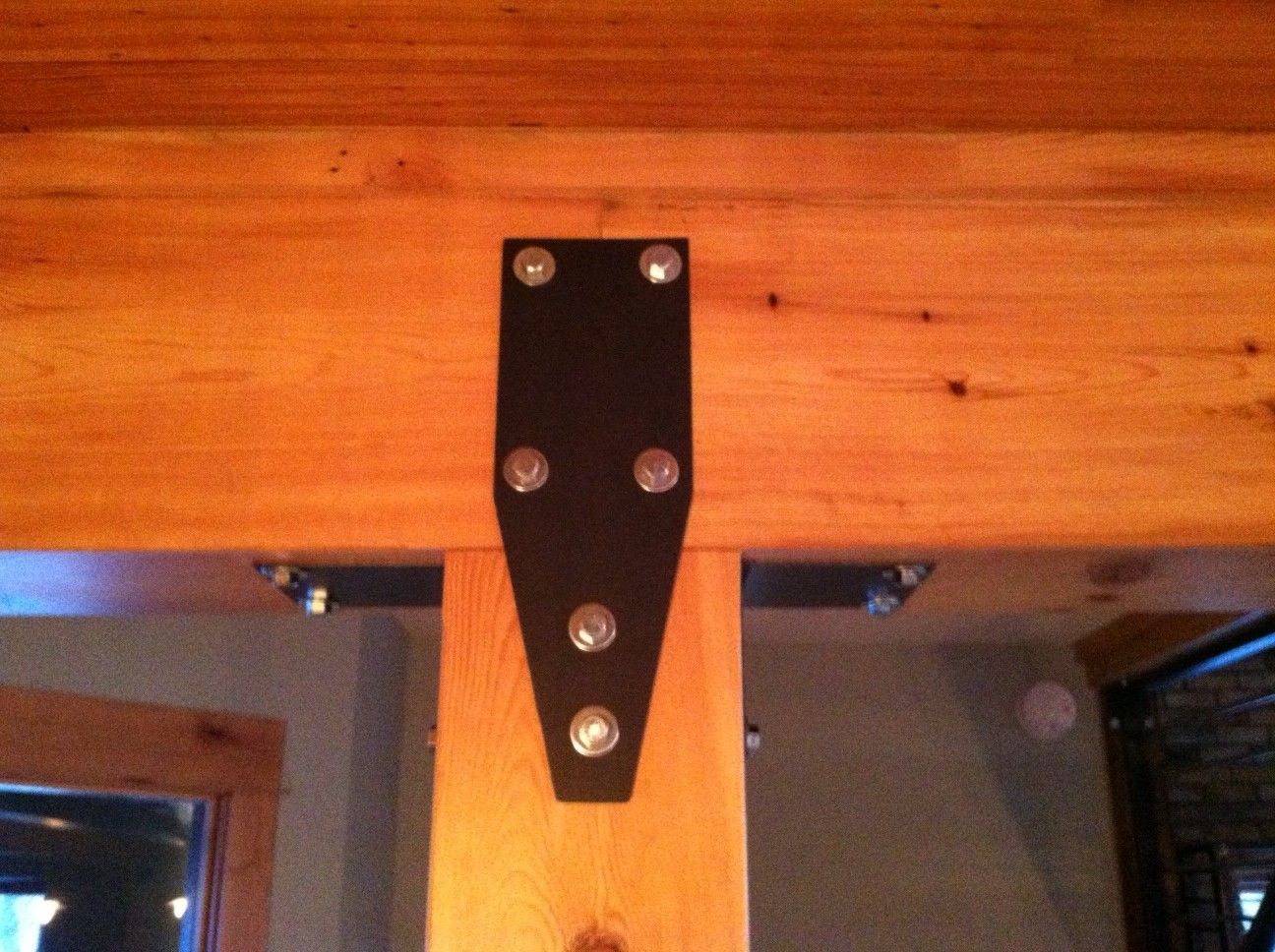 Custom Timber Beam Brackets Home Timber Beams Beams