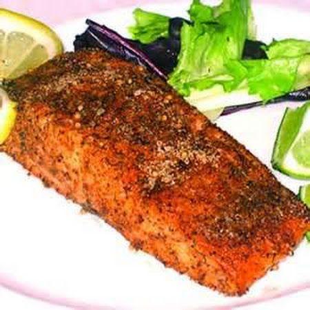 Baked Salmon  *