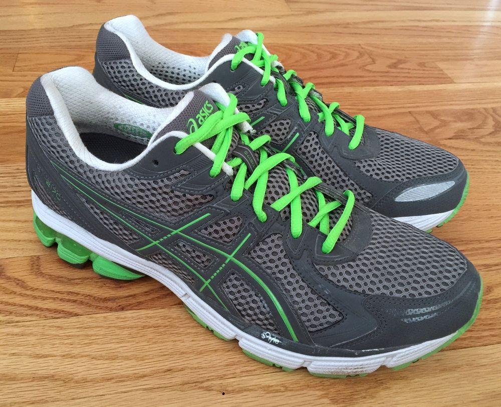 ASICS Gel GT-2170 Mens 10.5 M Running Shoes Gray Green T206N
