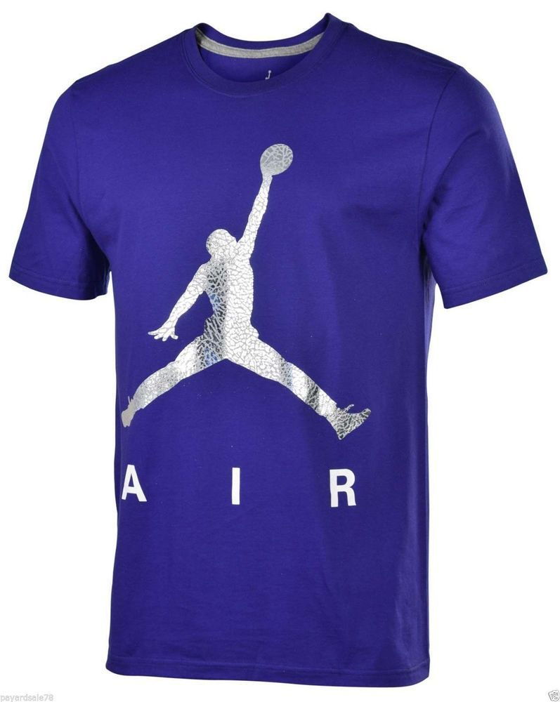 e3238e231293b3 VERY RARE MEN S SIZE XL NIKE AIR JORDAN T-SHIRT METALLIC ELEPHANT JUMPMAN  NEW  NIKE  GraphicTee
