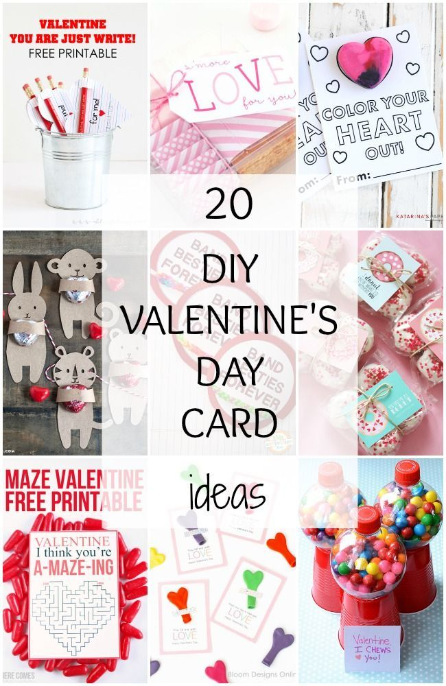 e21efb0f1 DIY Valentine's Day Card Ideas - 20 BEST Ideas! | Holidays & Events ...
