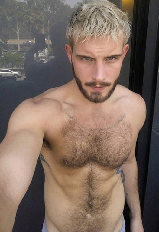 Cute hairy blonde boys
