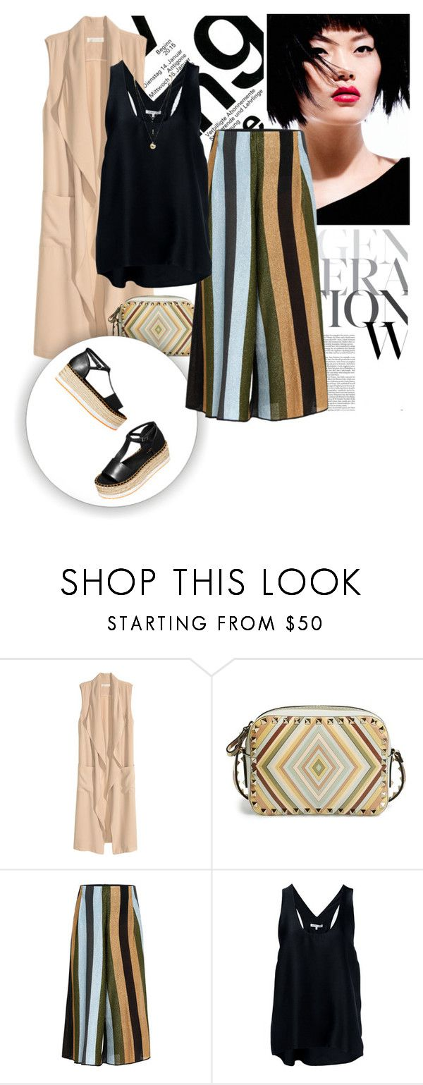 """""""H&MxCoachella"""" by magsterific ❤ liked on Polyvore featuring Valentino, H&M, Circus Hotel and Helmut Lang"""