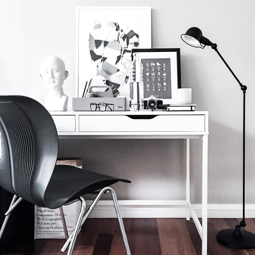 Minimalist Homeschool Room: Ikea 'Alex' Desk @scandihome