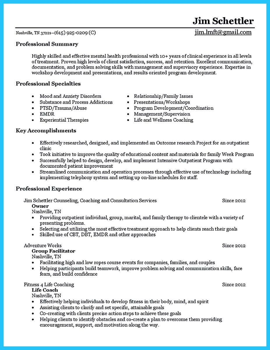 Cool Outstanding Counseling Resume Example To Get Approved Counselor Job Description Essay Word Camp