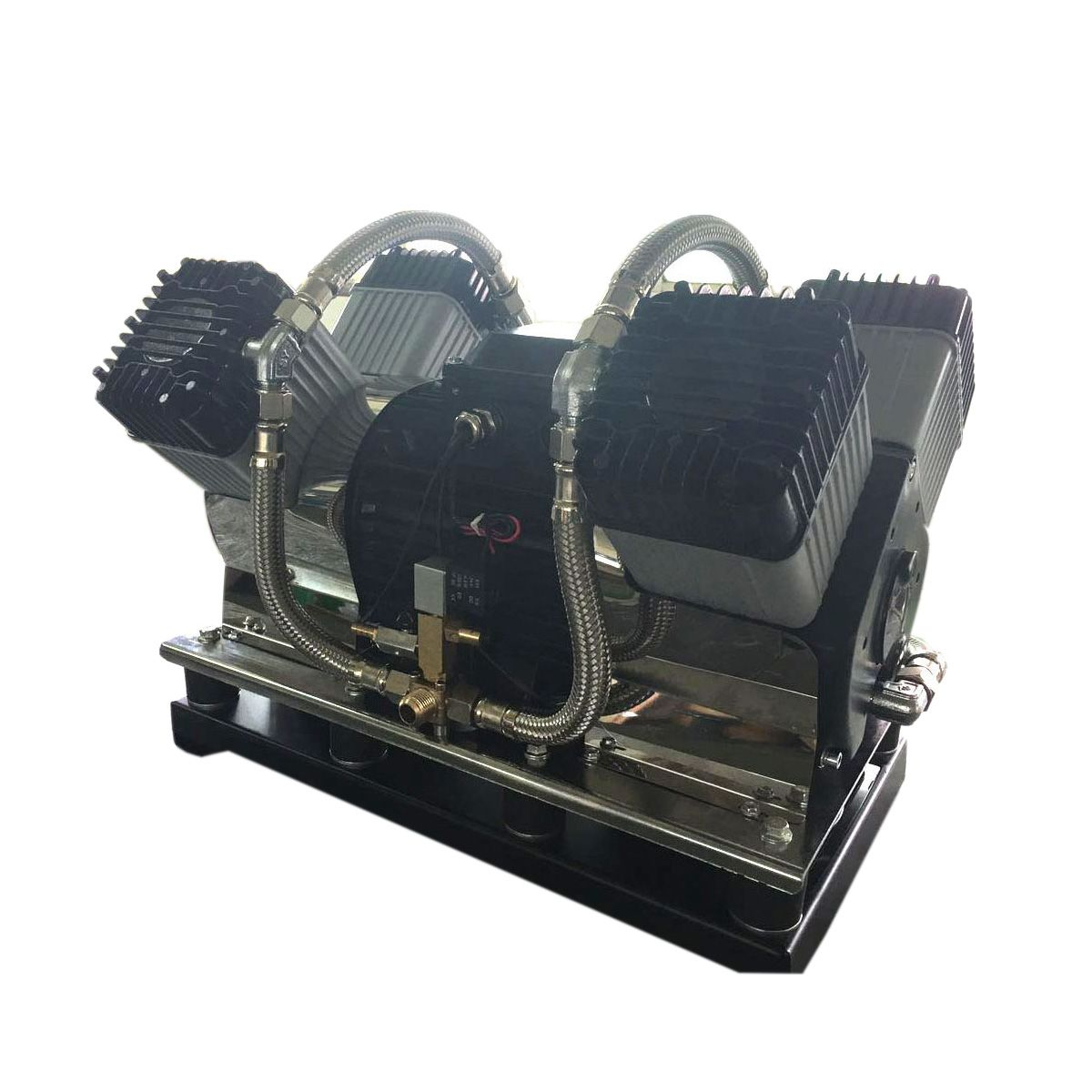 Piston type oilfree Air Compressor (With images