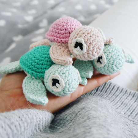 Amigurumi Schildkröte Häkeln Diy Baby Pinterest