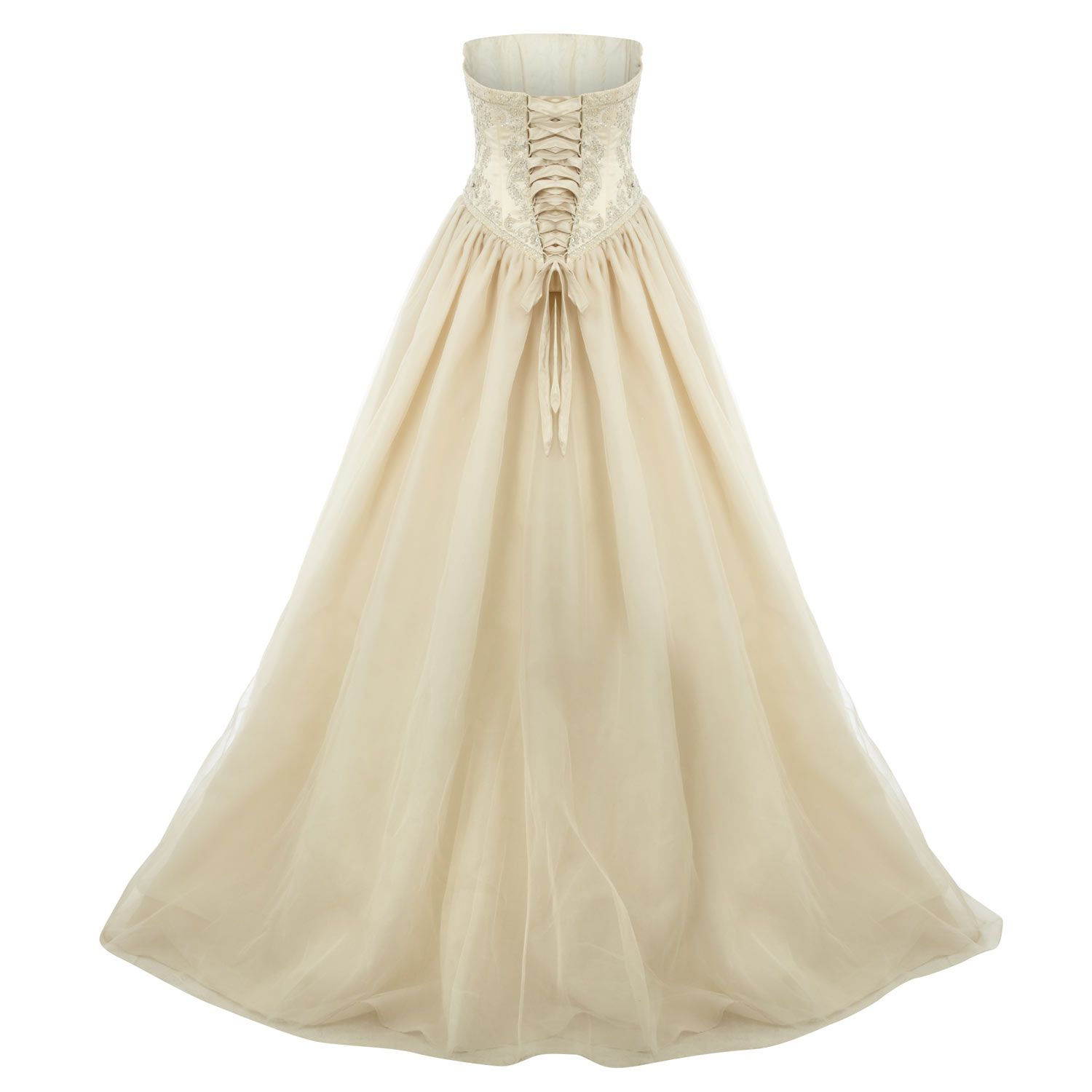 Hollywood Dreams Ivory Bodice Wedding Dress