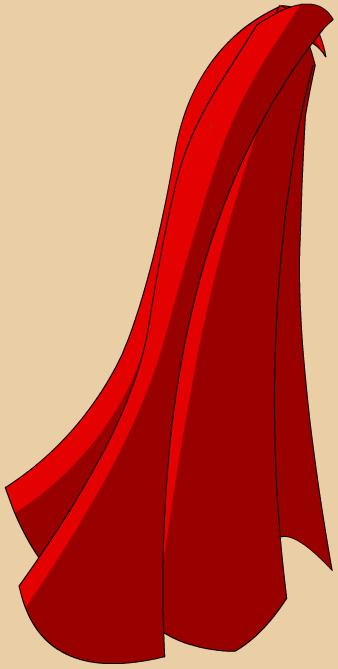 Red Hero S Cape Superman Cape Clip Art Cape