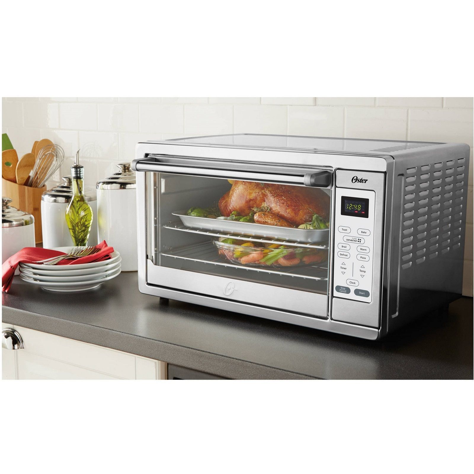 Extra Large Countertop Convection Toaster Oven Countertop
