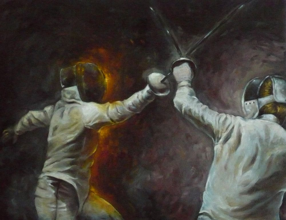 Fencing Oils Final By Aberzheim On Deviantart Esgrima