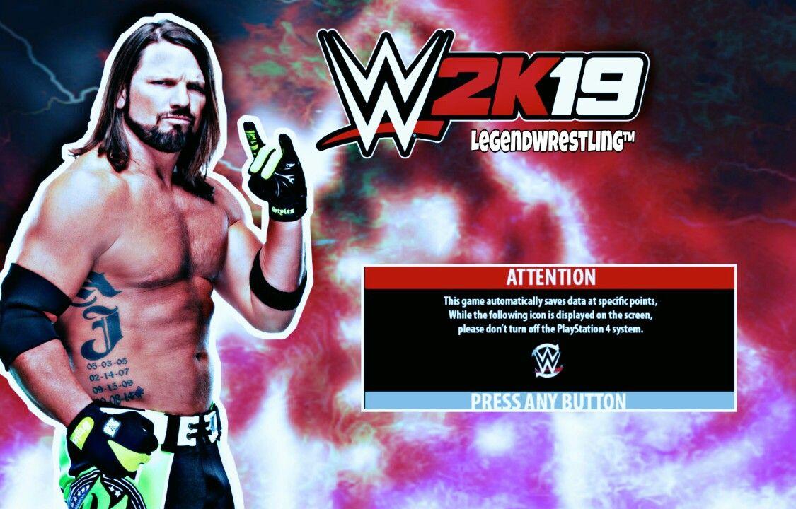 WR3D WWE 2K19 MOD LOADING SCREEN | Wwe 2k19, Loading