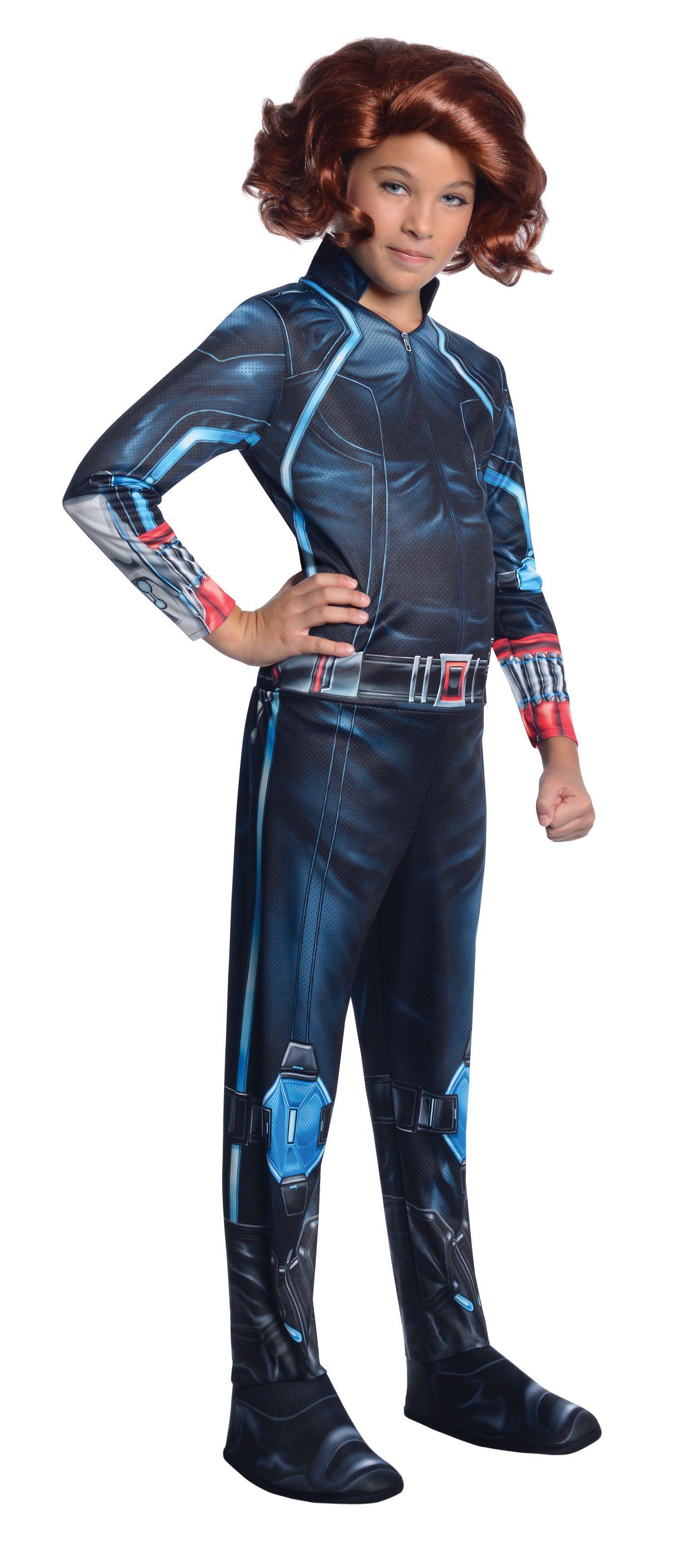 Black Widow Avengers 2 Age of Ultron Girl's Costume