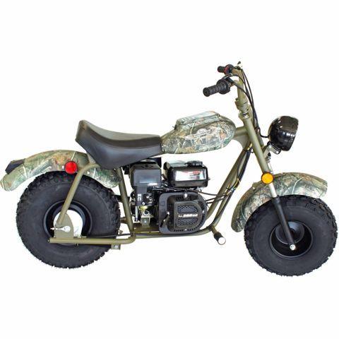 Baja Camo Warrior Mb200 Mini Bike Mini Bike Bike Mini