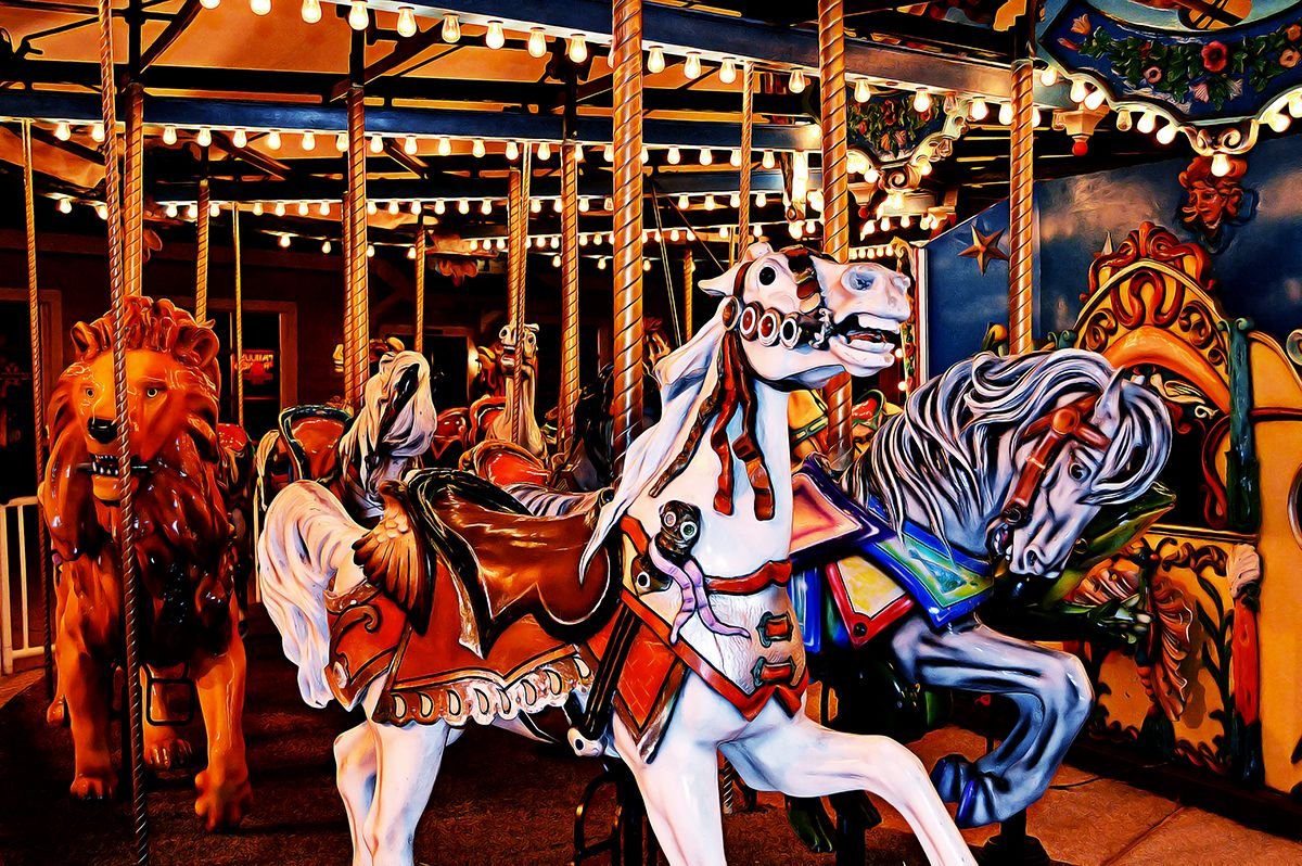 The Old Carousel At Barefoot Landing In North Myrtle Beach North Myrtle Beach Myrtle Beach Myrtle Beach Sc