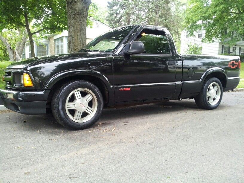 1996 Chevy S10 Ss For 4 500 Obo Contact Info