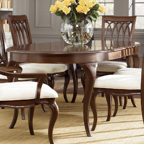 American Drew Cherry Grove New Generation Oval Dining Table Ad 091