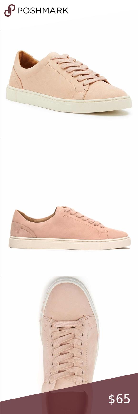 Frye ivy low top leather sneaker in