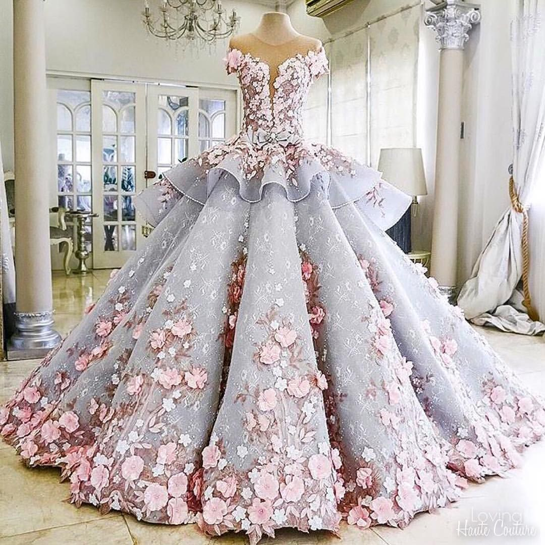 "Wedding Dresses Ideas Pinterest: Haute Couture On Instagram: ""Fairytale Gown By @maktumang"