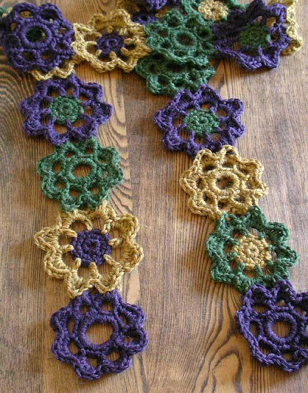 crochet scarf | I Craft | Pinterest | Ganchillo, Tejido y Bufanda cuello