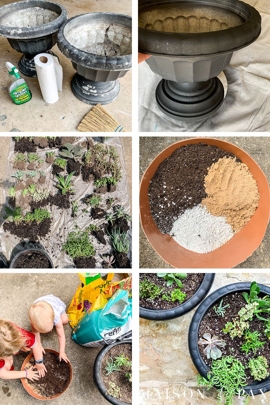 Diy succulent planters succulent planter diy best soil