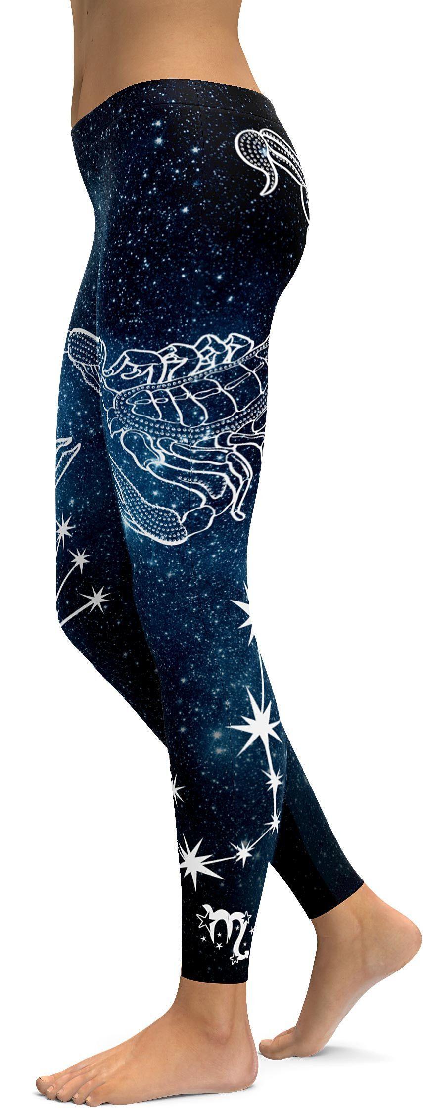 Scorpio Leggings Fashion, Leggings fashion, Fashion dresses