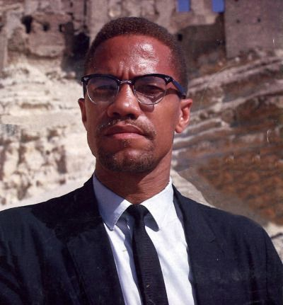 malcolm x probably in cairo undated and no info on this